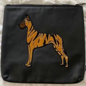 DIME PIECE DOBERMAN CLUTCH/POUCH